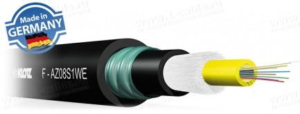 Фото1 F-AX..EX.. Кабель оптоволоконный, усиленная защита волокон (металлическая броня), для наружного прим