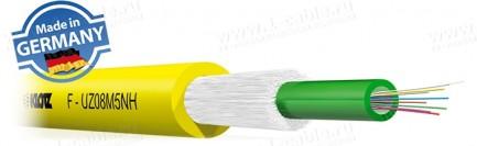 Фото1 F-UZ..HX.. Кабель оптоволоконный, усиленная защита волокон, универсальный, U-DQ(ZN)BH n x ../125, не