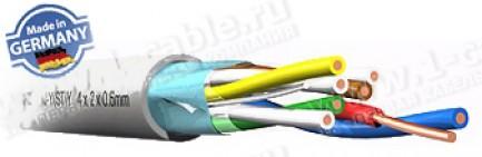 Фото1 J01.. Кабель телефонный для внутренней проводки, VDE0815