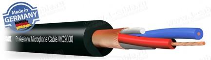 Фото1 MC2000.. Кабель микрофонный, профессиональный (2х0.22 мм2) AWG24, серия XL