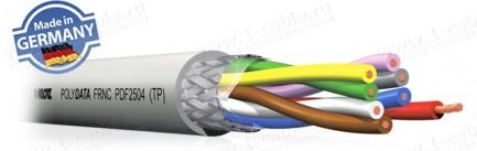 Фото1 PDF25.. Кабель для передачи данных с цветовым кодом, многожильный LiHCH [TP], повышенной надёжности
