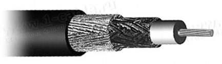 Фото1 Кабель высокочастотный RG-214 (50 Ом) 10.8 мм