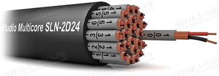 Фото1 SLN-2D.. Мультикор для туровых и студийных применений (0.20 мм2), эластичный, двойной спиральный мед