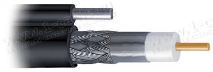 Фото2 V-CATV-11.. Кабель высокочастотный CATV-11, 75 Ом, размер (1.63/7.2-10.1)