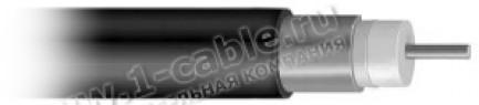 Фото1 QR540 - Кабель высокочастотный с внешним проводником из тонкостенной алюминиевой трубки (75 Ом) 15.4