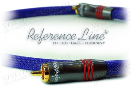 Фото1 1K-AR2-0.. Межблочный аудио кабель, REFERENCE Line, RCA штекер > RCA штекер