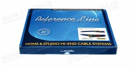 Фото2 1K-AR2-0.. Межблочный аудио кабель, REFERENCE Line, RCA штекер > RCA штекер