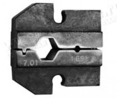 Фото1 N01003.12.. Губки для обжимного инструмента типа- XM, 2 размерa