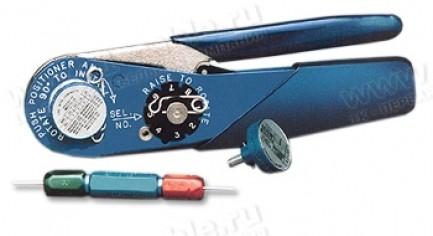 Фото1 CRIMP-AF8 - Инструмент для обжима пинов (штекеров и гнезд) в круглых разъемах, без сменных модулей