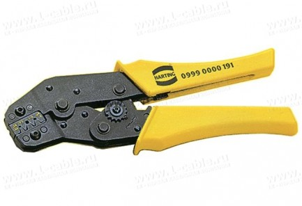 Фото1 9990000191 - Клещи для обжима контактов Harting в разъемах D, E, F, FM и  MH
