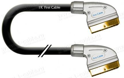 Фото2 1K-AV10-.. Кабель комбинированный: видео + звук, SCART > SCART (полный)