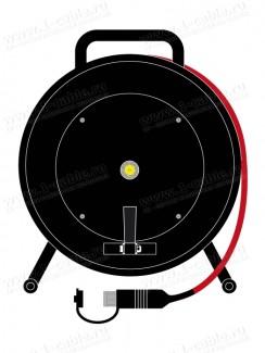 Фото1 1K-8TRX1/1FRPUR-..0 Триаксиальная мобильная камерная система на катушке, Triax Flex 8мм, барабан Fis
