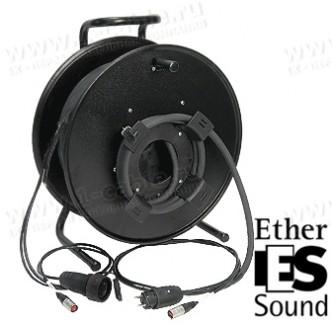 Фото2 1K-E1P1/0X-1.0 InterCON кабельная система на катушке, 1x Ethernet 5E RJ-45 штекер, SCHUKO штекер > 1