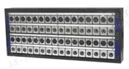 Фото2 1K-PB36/4-X.. 40-кан.(36-IN/4-OUT) коммутационная коробка в сборе Panel Box (36x XLR3 гнездо, 4x XLR
