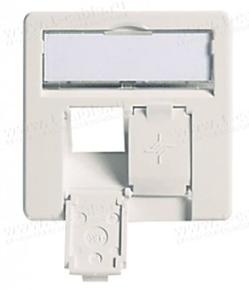 Фото1 F00020A011. Лицевая панель для установки на розетки для внутреннего монтажа