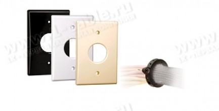 Фото1 FMS1.50FK-.. - Панель настенного ввода кабельных жгутов в оплетке, полный комплект, серия FMS