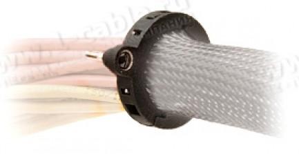 Фото1 FMS1.50FL. - Запирающее кольцо для панели настенного ввода кабельных жгутов в оплетке, серия FMS