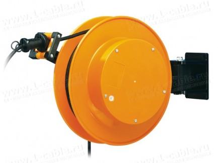 Фото1 FT 038.. Катушка с силовым кабелем, токосъемником и настенно-потолочным креплением, диам.- 380мм, 16