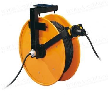 Фото1 FT 046.0.. Катушка с токосъемником (3/5/7 конт) и настенным креплением (потолочное - опционно), диам