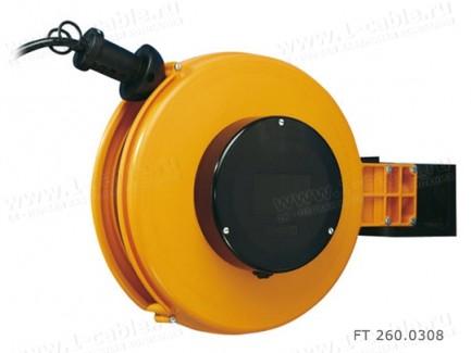 Фото1 FT 260.0.. Катушка с силовым кабелем H05VV-F с настенно-потолочным креплением, диам.- 260мм, 10А