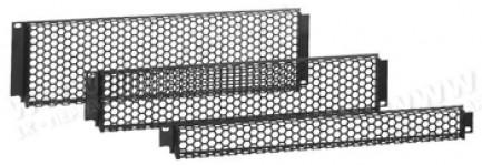 """Фото1 GR-A-00. 19"""" рэковая сетчатая защитная панель, алюминий"""