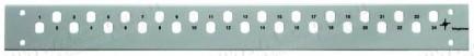 Фото1 H02025A0.. Передняя панель 1U для установки в рэковый корпус серий ECONOMY V, BASIS V, PROFI V, PROF