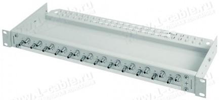 Фото1 H02030.0.. Патч-панель 19'' с кабельным органайзером, проходными адаптерами, серия ECONOMY V