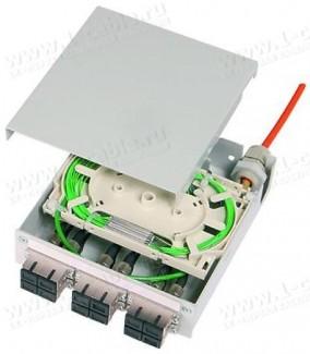 Фото1 H82050.00.. Распределительный модуль с панельными разъемами, сплайс-кассета, металлический корпус, с