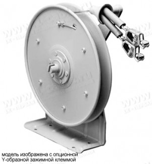 Фото1 HGR 50.. - Катушка заземления с кабелем 23 м (диам. 3.18 мм), крепление на поверхность, пружина обра