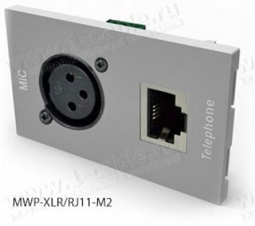 Фото11 MWP-.. Модуль для комбинированной настенной розетки, серия Modular Wall