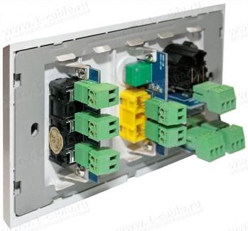 Фото5 MWP-.. Модуль для комбинированной настенной розетки, серия Modular Wall