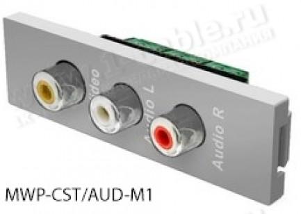 Фото8 MWP-.. Модуль для комбинированной настенной розетки, серия Modular Wall