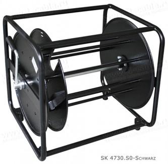 Фото1 SK 4731.S0-schwarz Рамная кабельная катушка с разделительным диском, вн. диам. 460 мм, прямоугольная