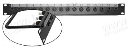 Фото1 TP-.U-..JS Оконечная панель звуковых сигналов - Jack 6.3, стерео, серия BASIC