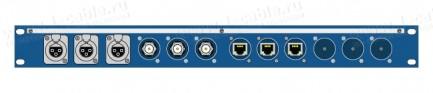 Фото1 TPC12-1U-.. Оконечная панель комбинированная, 12 каналов, 1U