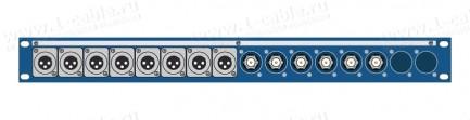 Фото1 TPC14-1U-.KF/.. Оконечная панель комбинированная, 14 каналов, 1U