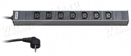 """Фото1 ACDI-19-0.IEC.. Блок розеток типа IEC320 C13, 19"""" без RFI фильтра"""