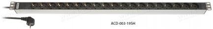 Фото3 ACD-003-1.SH Блок розеток для установки в рэк
