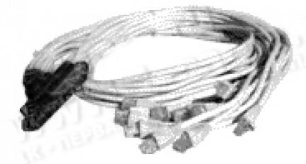 Фото2 1K-BIT53-24MM-0. Кабель для передачи данных, RJ21 Telco/Amphenol RJ21 штекер >24x RJ11 штекер