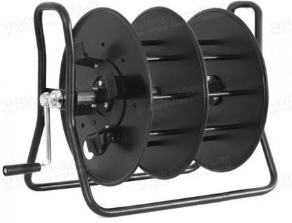 Фото1 SK 4632.2xRM-schwarz - Рамная кабельная катушка с разделительным диском, вн. диам. 460 мм