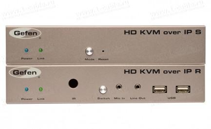 Фото2 EXT-HDKVM-LAN.. Удлинитель HDMI, USB, RS-232, ИК, двунаправленного аудио по кабелю витая пара (5e/6