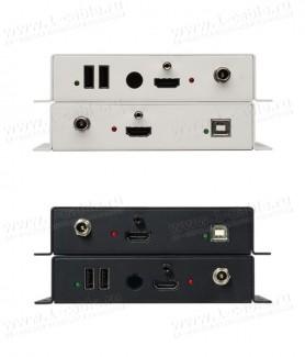 Фото4 GTB-HDKVM-ELR.. Удлинитель HDMI, USB, Ethernet и ИК по двум кабелям витая пара на длины до 100 м, с