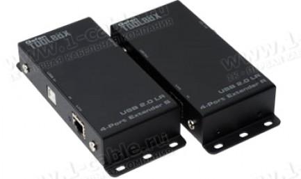 Фото2 GTB-USB2.0-4LR.. Удлинитель высокоскоростных линий USB (до 480 Мгб/сек) по одной витой паре (5 Cat)