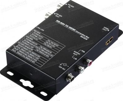 Фото1 HIT-..D..-.. Преобразователь цифровых сигналов SD/HD/3G-SDI в HDMI с выделением аналогового аудио