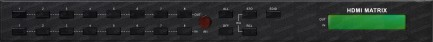Фото2 HIT-HDMI.. Матричный видео коммутатор сигналов HDMI (версия 1.3) 8х8, серия PRO с ИК пультом управле