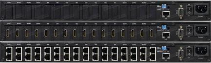 Фото3 HIT-HDMI.. Матричный видео коммутатор сигналов HDMI (версия 1.3) 8х8, серия PRO с ИК пультом управле