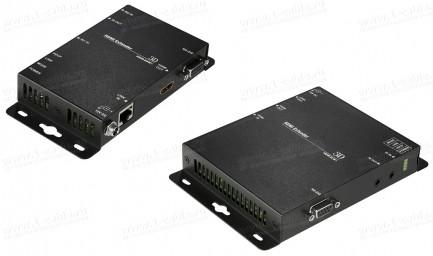 Фото1 HIT-HDMI4K2K-CAT..0P.. Удлинитель линий HDMI (4K2K) по одному кабелю витая пара, с передачей ИК сигн