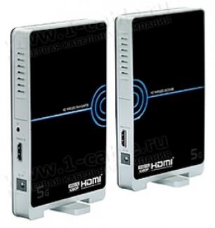 Фото1 HIT-WHDMI.. Беспроводной усилитель цифровых HDMI сигналов (1080p) на расстояние до 20 м
