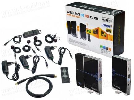 Фото3 HIT-WHDMI.. Беспроводной усилитель цифровых HDMI сигналов (1080p) на расстояние до 20 м