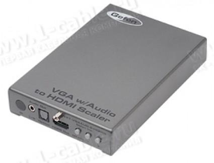 Фото1 EXT-VGAAUD-2-HDMIS - Преобразователь аналоговых сигналов VGA и аудио сигнала в HDMI сигнал с втроенн